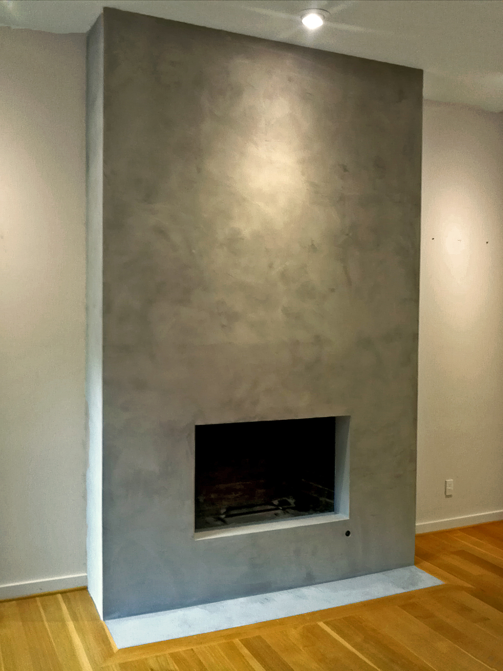 fireplace without hearth awesome diy working fireplace without a