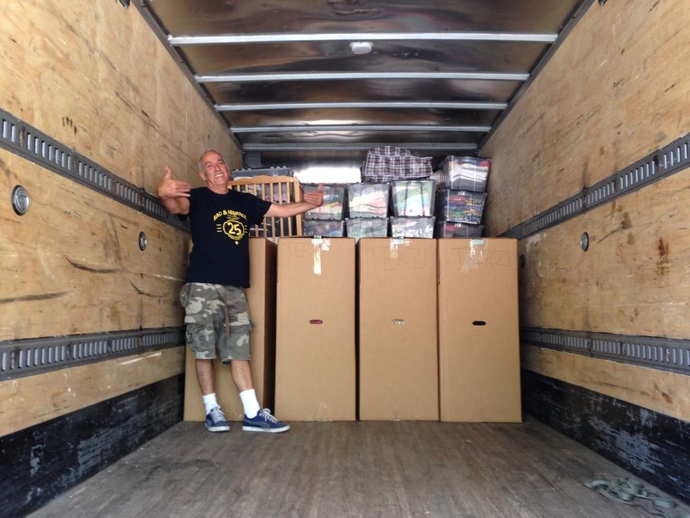 Even the trucker is happy!