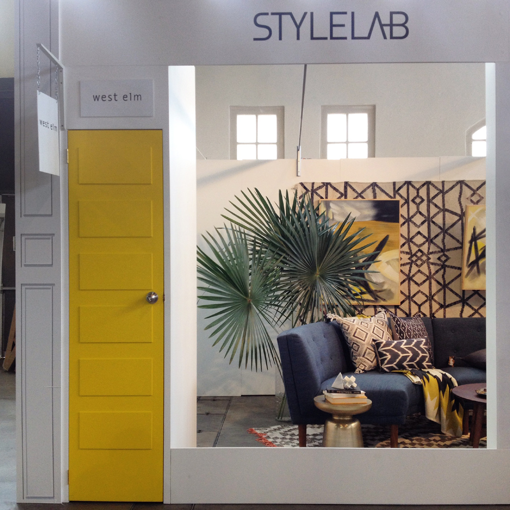 Style Lab and West Elm