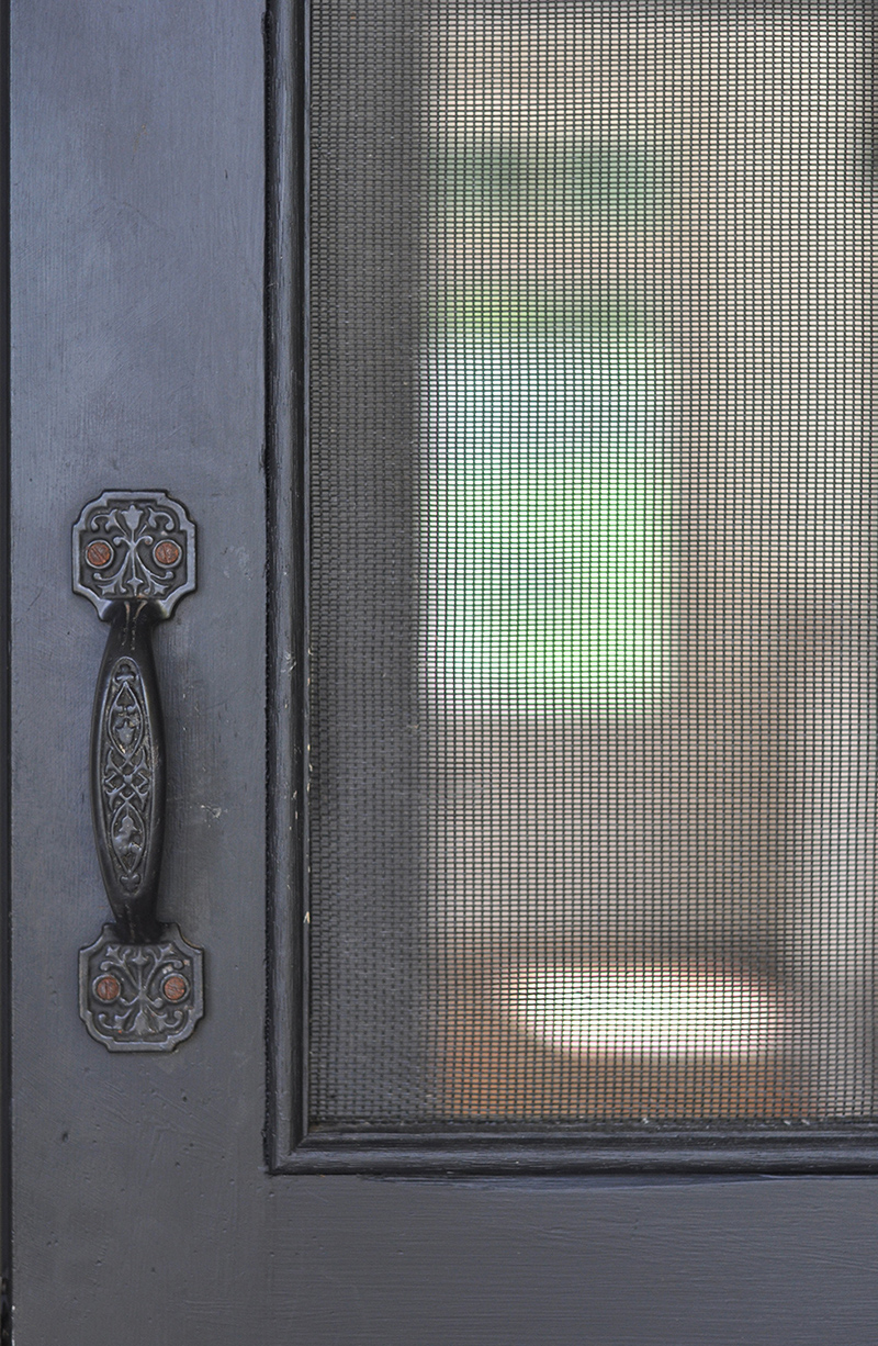 Screen door details