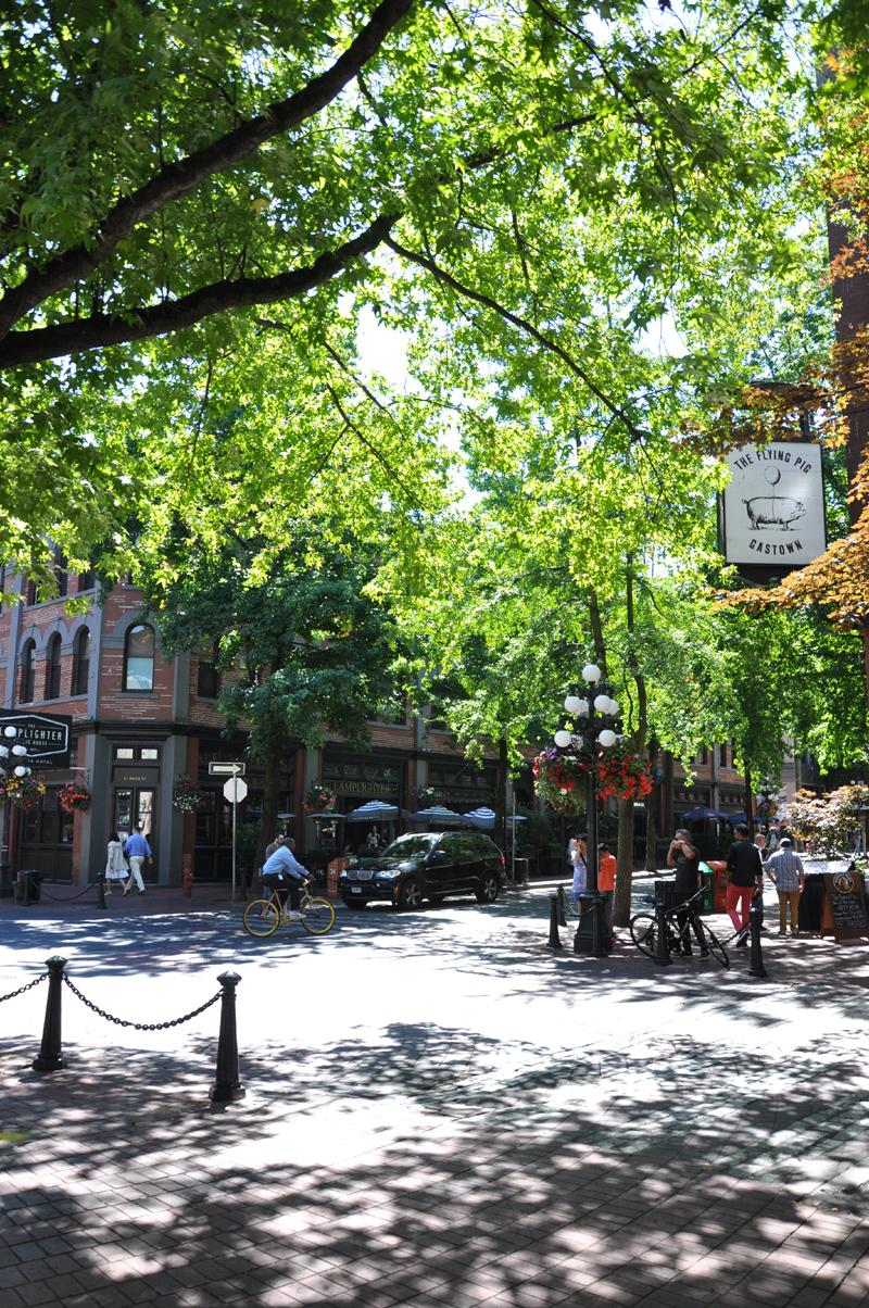 Gastown street scene
