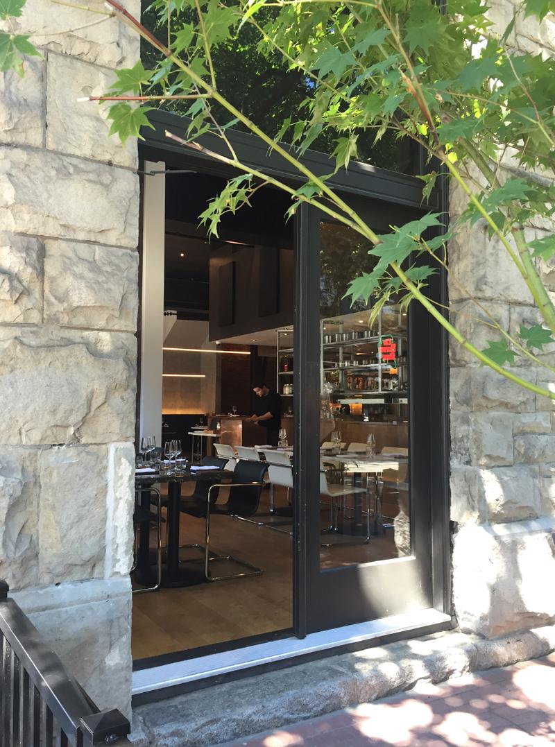 Sneaking a peek into Bauhaus restaurant