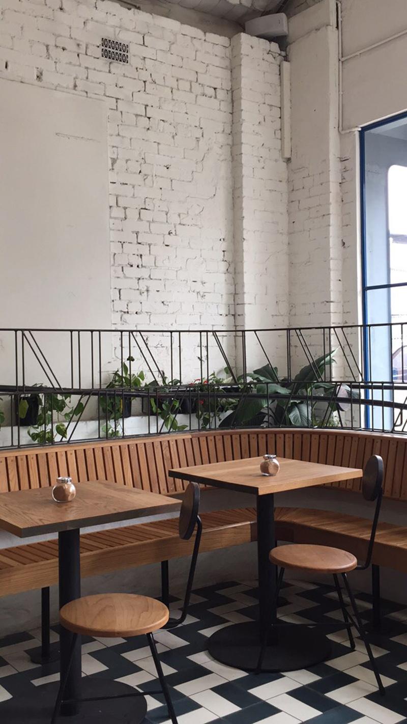Interiors, Mecca Cafe