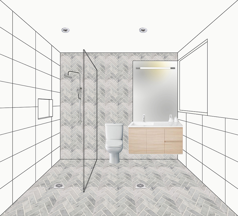Bathroom Render