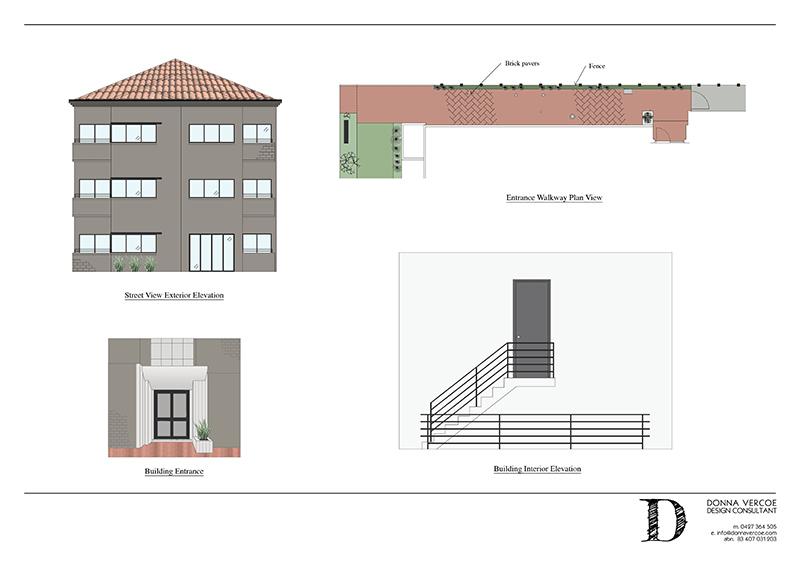 Planning + Detailing: Renders
