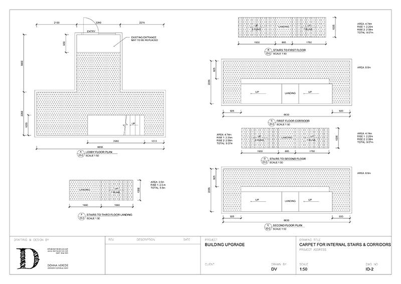 Building Upgrade: AutoCAD plan