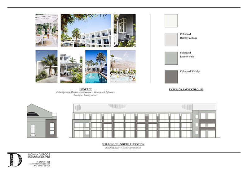 Building Upgrade: Concept created in Indesign