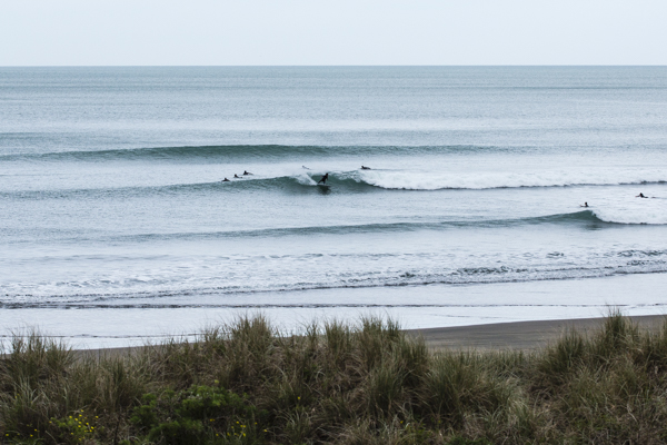 Matt Ziegler enjoying this week's perfect but small South West swell