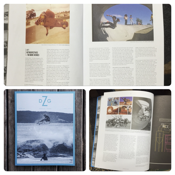 The current issue of DGZ, and look there, a feature by...me!