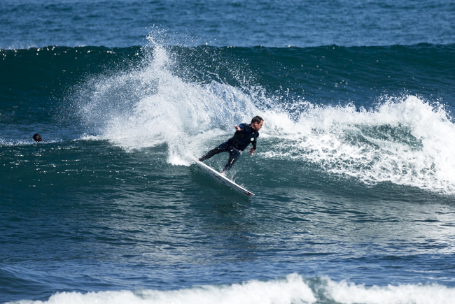 Taylor Knox during the mentioned sessions at Ruapuke Photos CPL