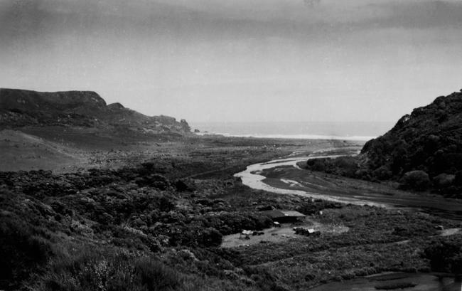 Te Henga late 1950's- Photo Audrey Levers