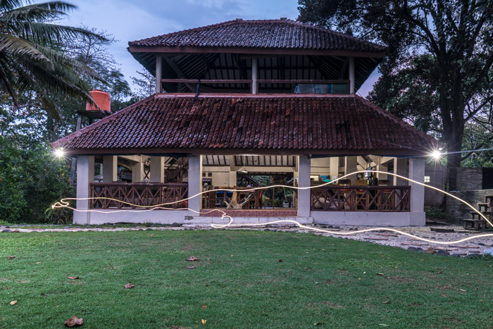 Damai's main building/bar/dinning common area