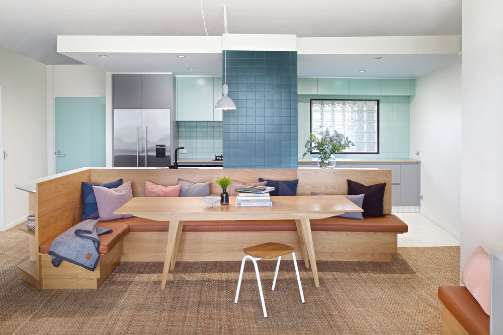 Toowong Apartment - dining/kitchen