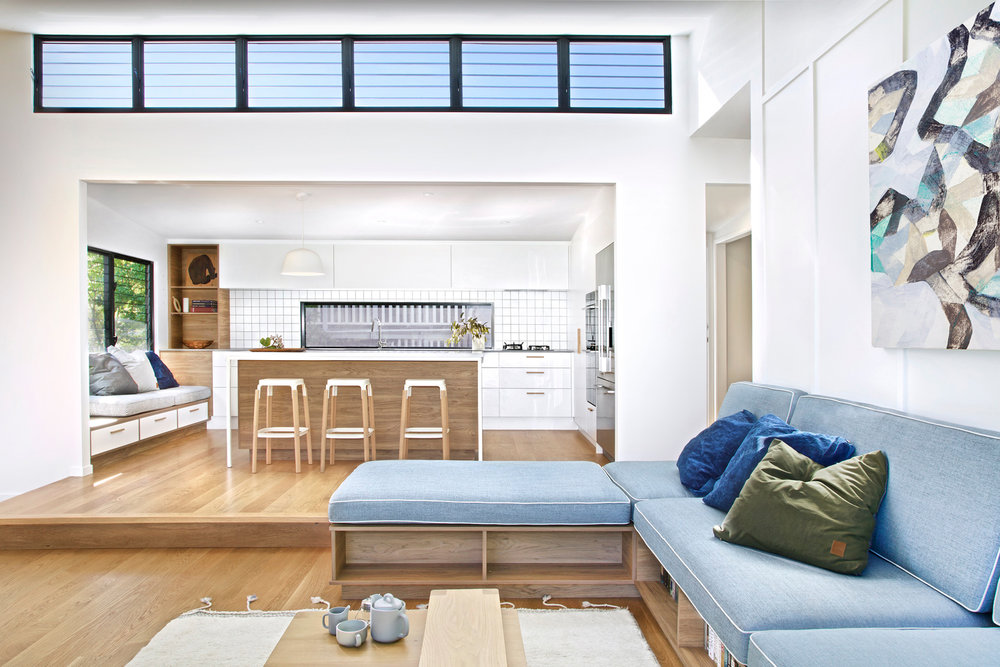Copy of Wilston Project - living/kitchen