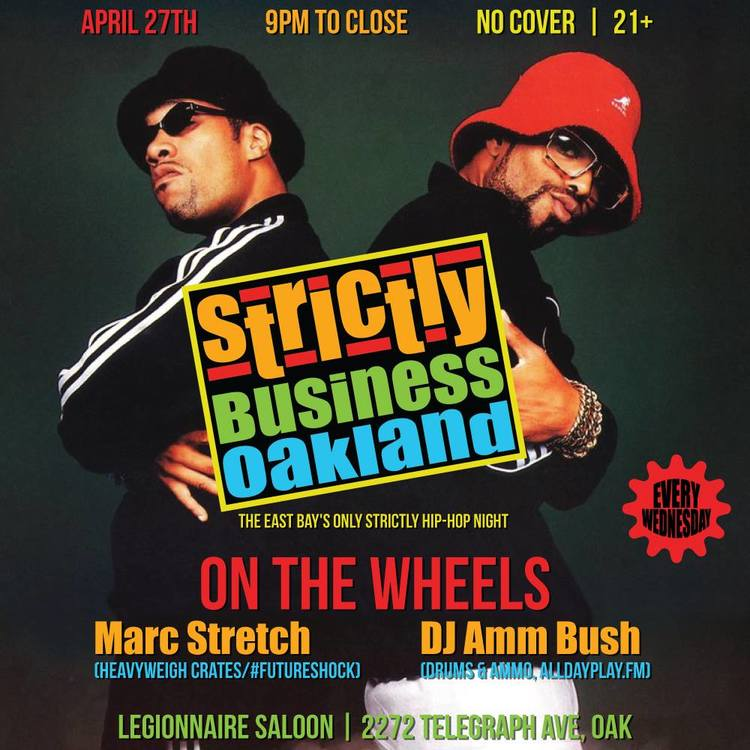 Strictly Business Oakland — Drums & Ammo