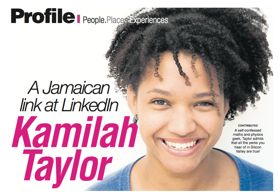 Photo: Jo Chou. Feature article: http://jamaica-gleaner.com/article/outlook/20150913/kamilah-taylor-jamaican-link-linkedin