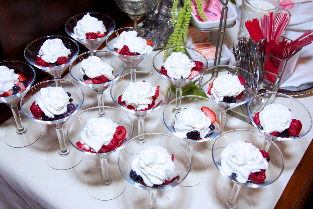 Fresh Berries with Grand Marnier Infused Whipped Cream