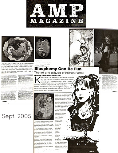 AMP Magazine - Artist Feature 2005