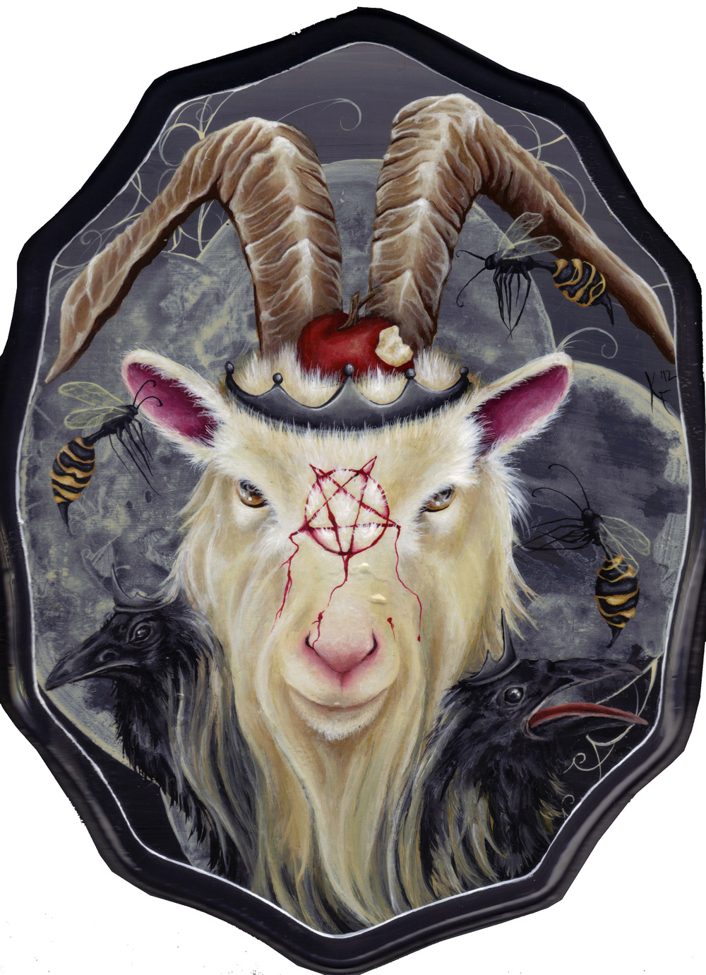 Goats go to Hell