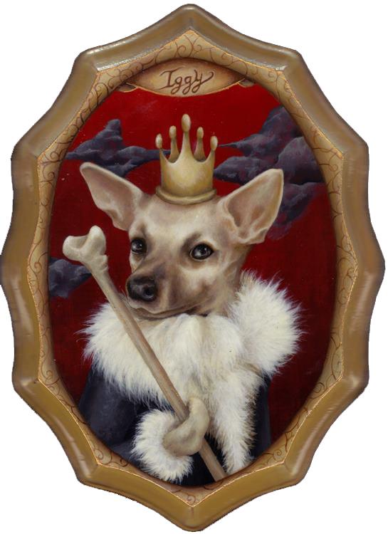 Kristen Ferrell Iggy Pet Portrait
