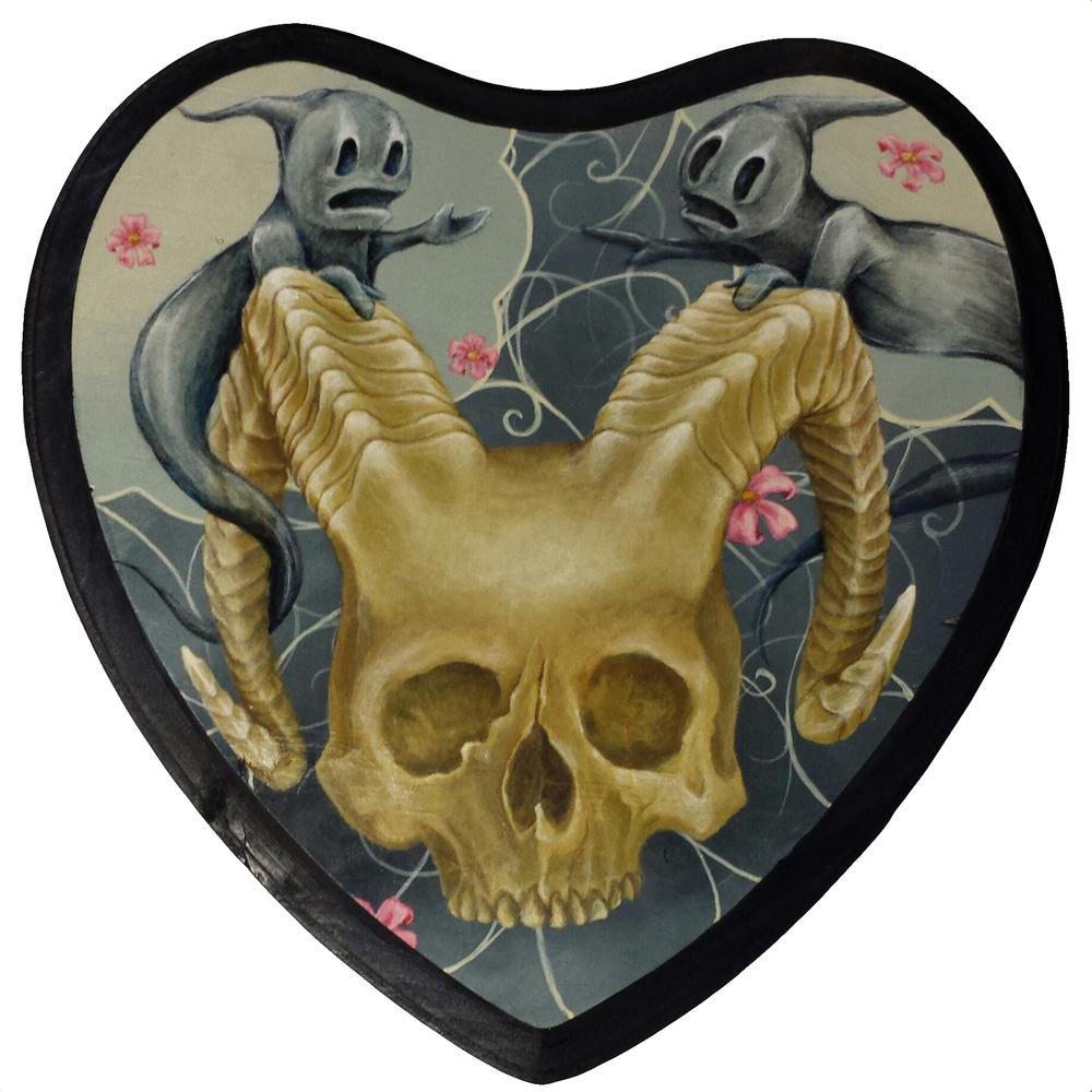 Kristen Ferrell demon skull