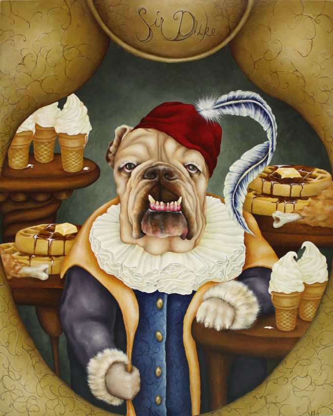 Kristen Ferrell Sir Duke Pet Portrait