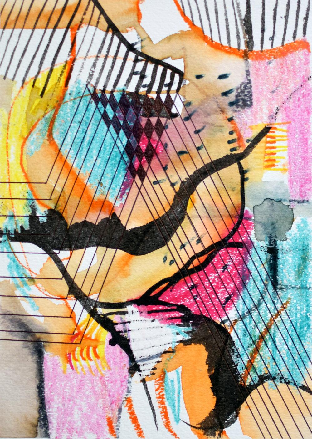 soleil drawing 1