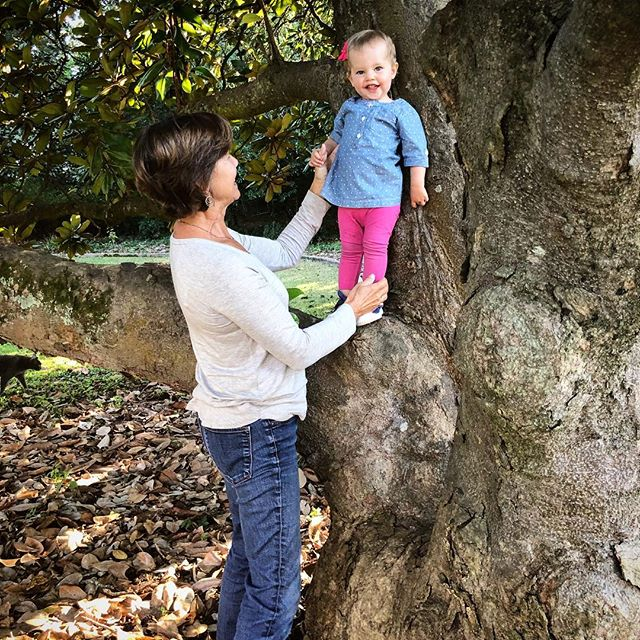 Learning to climb trees with her AA. #adileenkate