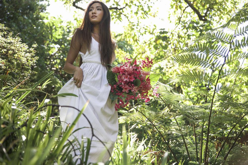 Hawaiian Forest Wedding