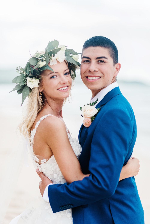 Wedding Hair and Makeup - Hawaii
