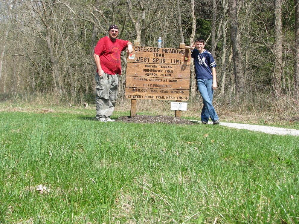 2. Clear Creek Metro Park - Sugar Grove, Ohio