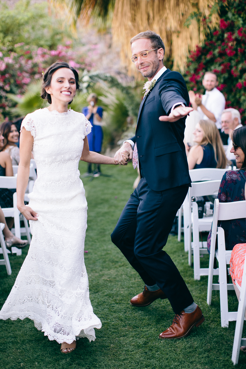 Modern Romantic Palm Springs Wedding