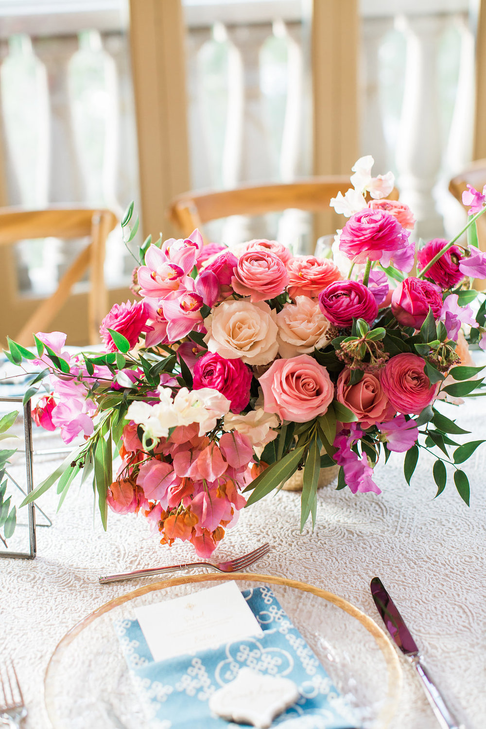 Bougainvillea filled La Quinta wedding by Hello Gem Events | Birds of a Feather Photo