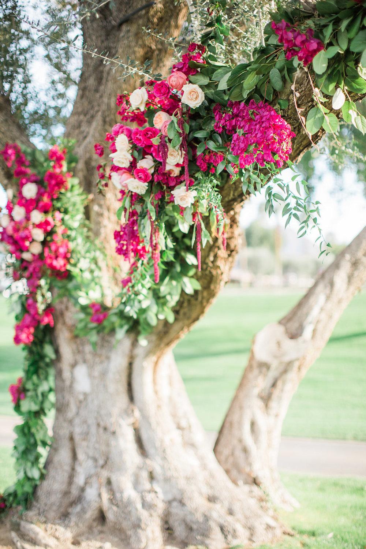 Bougainvillea filled La Quinta wedding by Hello Gem Events