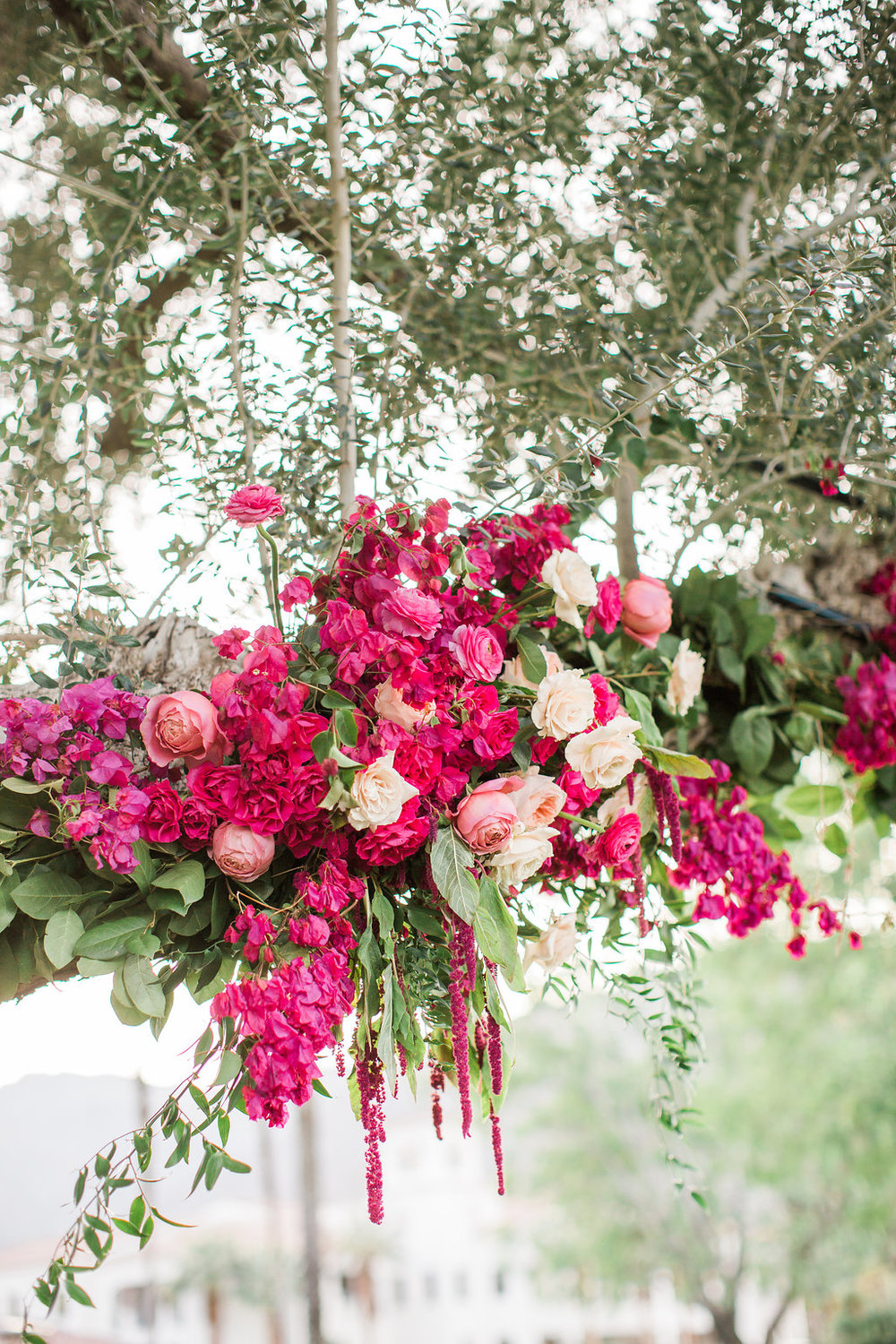 Bougainvillea filled La Quinta wedding by Hello Gem Events
