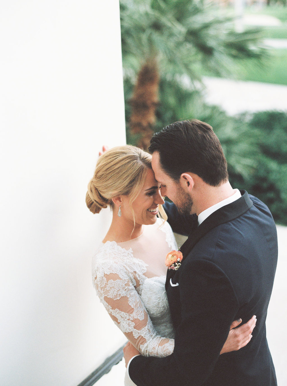 Bougainvillea filled La Quinta wedding by Hello Gem Events   Birds of a Feather Photo