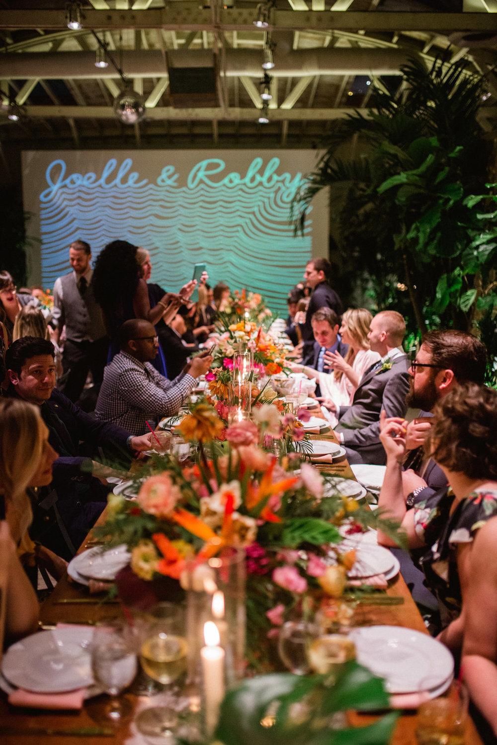 Tropical Millwick Wedding by Hello Gem Events