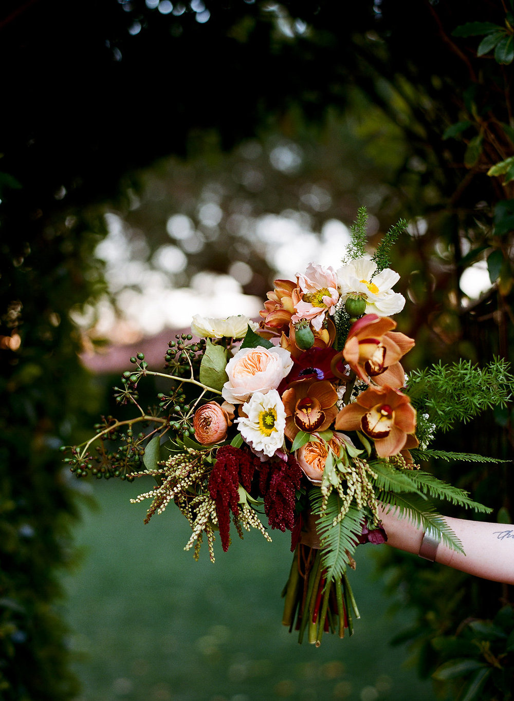 Moody Botanical Santa Barbara Wedding by Hello Gem
