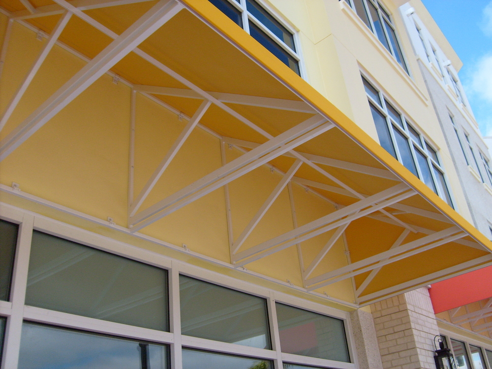 Sunbrella Fabric Covered Awning