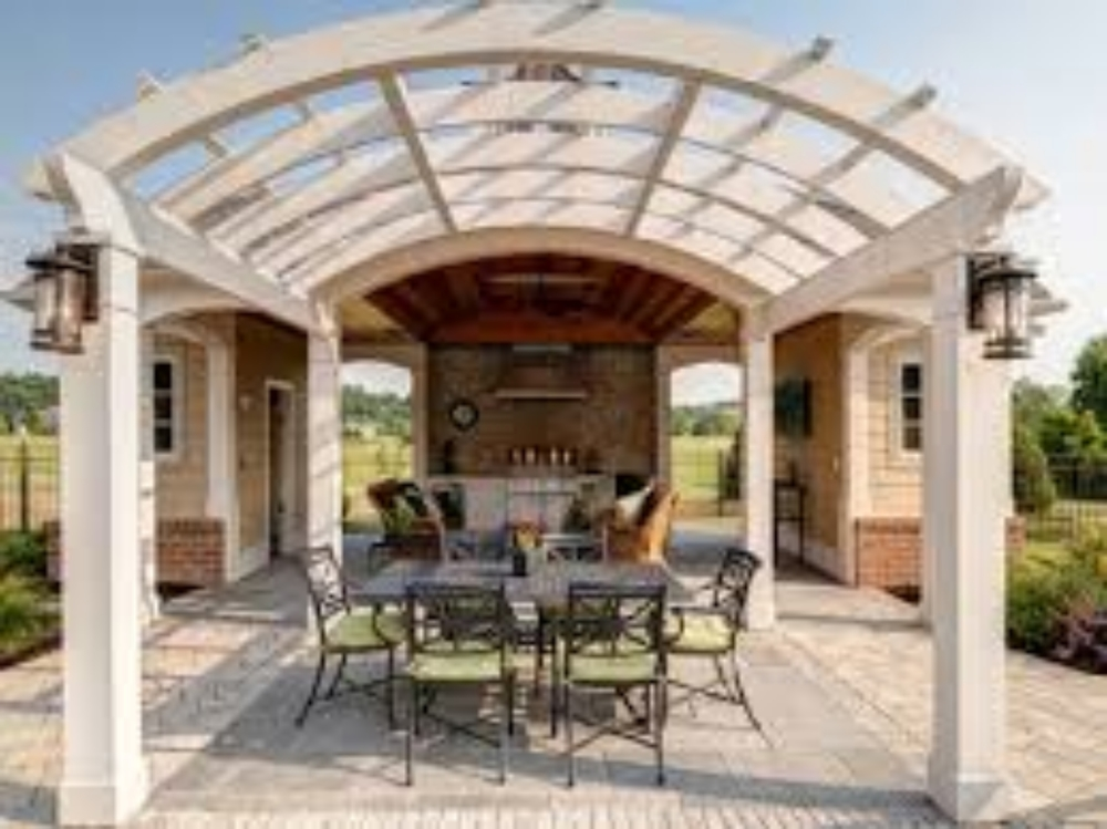 237 Arched Top Trellis