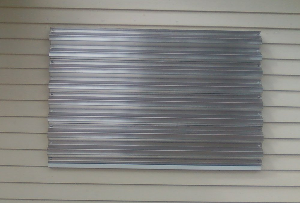 104 Horizontal Installation, Slide Panels Over the Side Walk Bolt