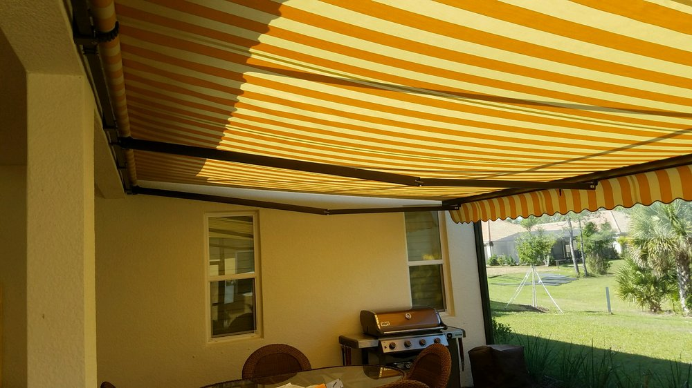 312 How Much Shade!  Retractable with Sunbrella Fabric