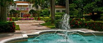 Mediterranean inspired Villas at Fisher Island