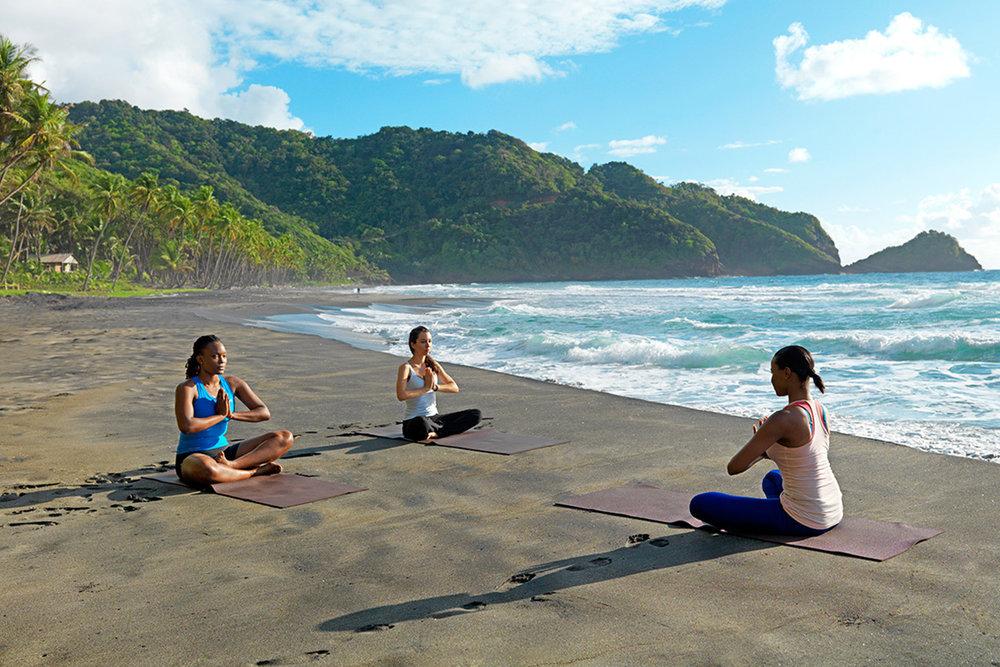 Rosalie Bay beach-yoga.jpg