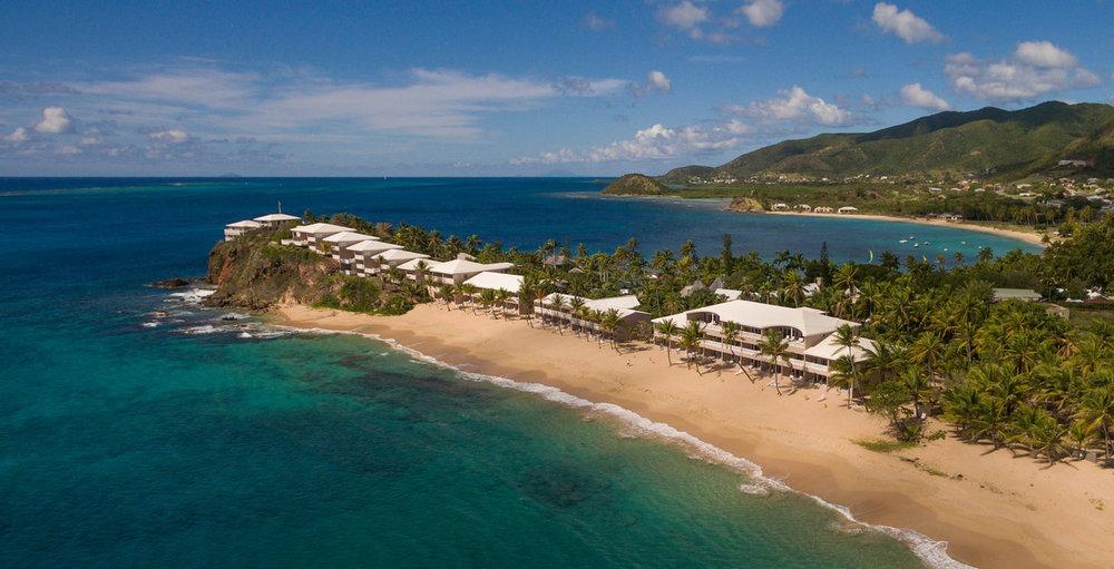 Curtain bluff surf beach & guest rooms