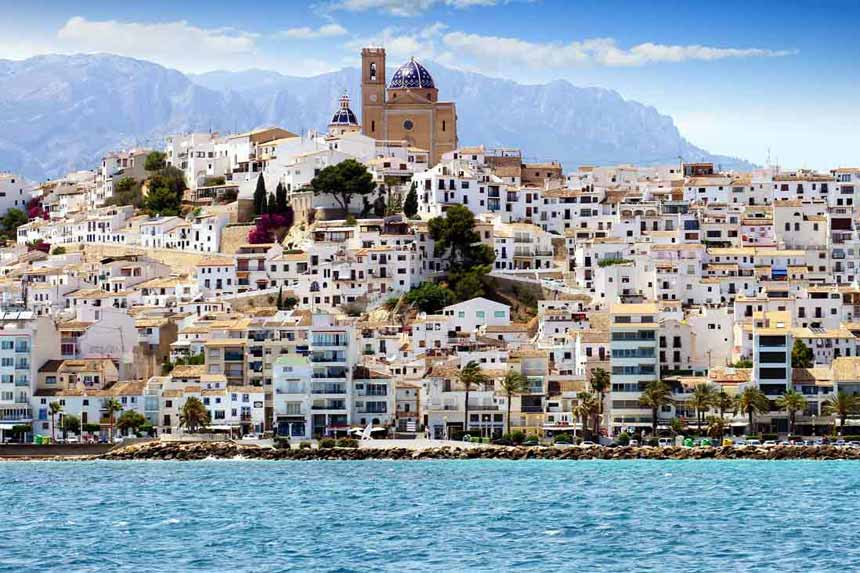 Altea from the Sea