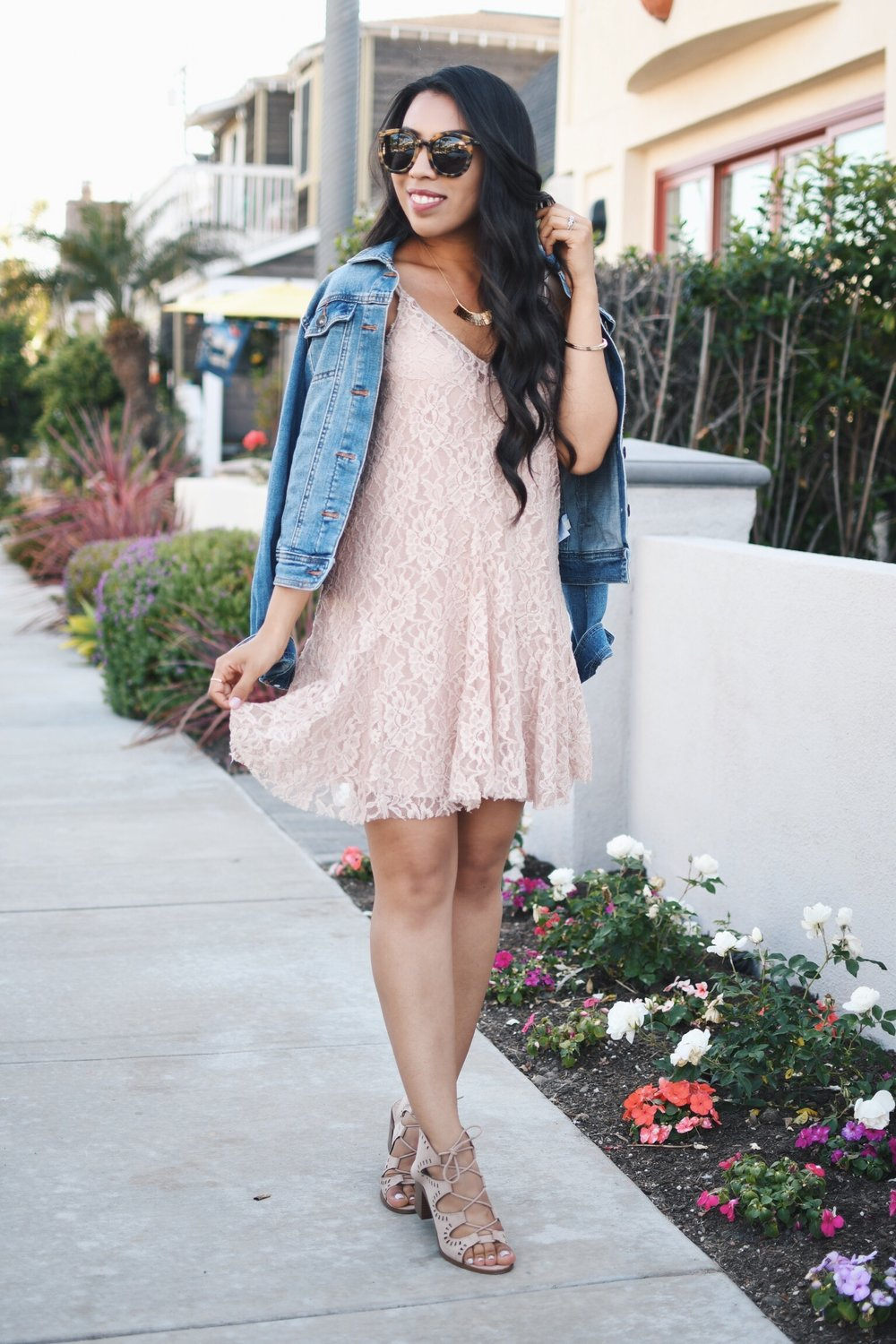 the perfect lace dress