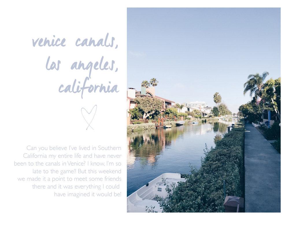 Venice canals, los ángeles, California