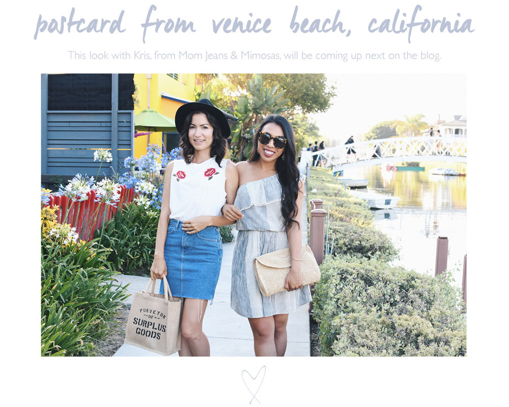 Postcard from Venice Beach, California
