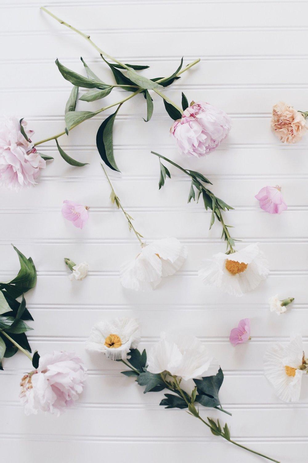 Peonies & Wildflowers